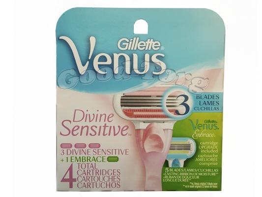 Venus 3 blades  4 картриджа