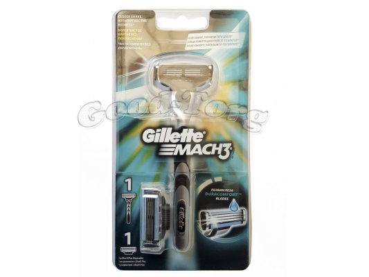Станок Gillette MACH 3