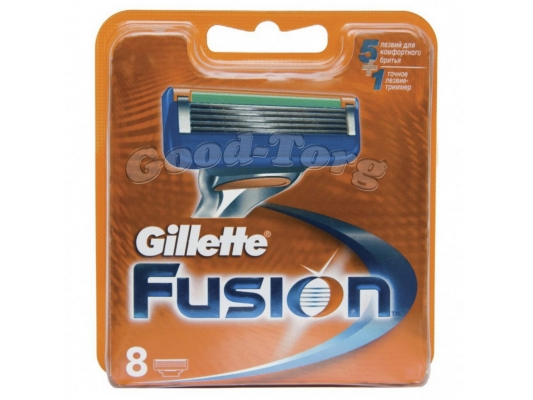 Картриджи Gillette Fusion original 8 шт.