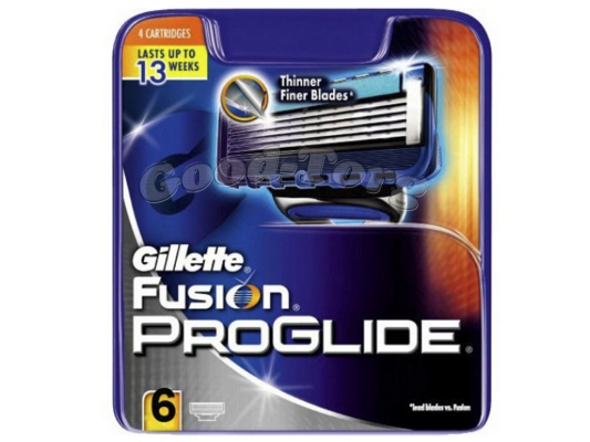 Картриджи Gillette Fusion Proglibe original 6 шт.