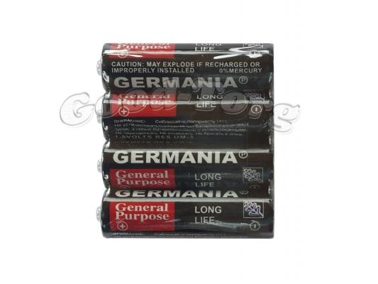 Батарейка GERMANIA, AA R6P, палец, 40 шт.