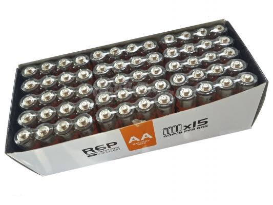 Батарейка VIDEX, AA R6, палец, 60 шт.