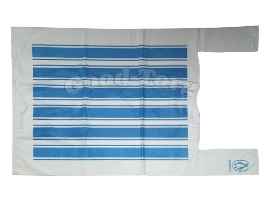 Пакет Packovan, белый полоска, 450*680 мм. 100 шт.