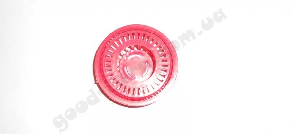 Сетка на мойку круглая пластмассовая маленькая d 6 см.