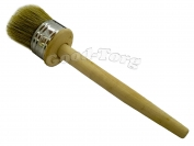 Кисть круглая, №55, 22*5 см, деревянная ручка 1 пач. = 5 шт.