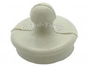 Заглушка для ванны, резиновая, 54 мм. Маленькая широкая евро