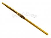 Крючок для вязания алюминиевый 5.5 мм 1 уп. = 5 шт.