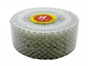 Портновские булавки с шариком, белая, 12 пластин в блоке