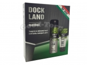 Набор для мужчин Dock Land, Menthol ( пена для бритья, бальзам после бритья )