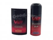 Набор для мужчин VIP, Экстраувлажнение ( дезодорант, гель после бритья )