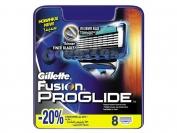 Картриджи Gillette Fusion PROGLIDE, оригинал, 1 уп = 8 шт.