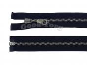 Молния Металл N5, разъемная, черная, никель 75 см. 1 уп. = 10 шт.
