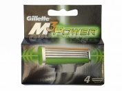 Картриджи Gillette MACH 3 Power оригинал - 4 насадок
