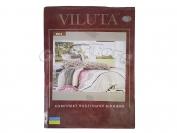 Постельное белье VILUTA N24, полуторный (Пододеяльник 1 шт. 215х145 см. Простыня 1 шт. 220х150 см. Наволочка 2 шт. 70х70 см.)