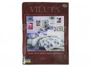 Постельное белье VILUTA N14, полуторный (Пододеяльник 1 шт. 215х145 см. Простыня 1 шт. 220х150 см. Наволочка 2 шт. 70х70 см.)