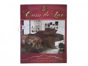 Постельное белье Casa de Lux Rainforce  N6 полуторный (Пододеяльник 1 шт. 220х145 см. Простыня 1 шт. 220х150 см. Наволочка 2 шт. 70х70 см.)