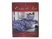 Постельное белье Casa de Lux Rainforce  N4 полуторный (Пододеяльник 1 шт. 220х145 см. Простыня 1 шт. 220х150 см. Наволочка 2 шт. 70х70 см.)