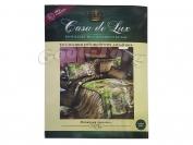 Постельное белье Casa de Lux (зеленая упаковка) N2, евро (Пододеяльник 1 шт. 220х200 см. Простыня 1 шт. 220х200 см. Наволочка 2 шт. 70х70 см.)