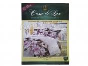 Постельное белье Casa de Lux (зеленая упаковка) N6, семейный (Пододеяльник 2 шт. 215х145 см. Простыня 1 шт. 220х200 см. Наволочка 2 шт. 70х70 см.)