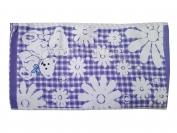 Полотенце для кухни мишка + ромашка лен 25х50  Китай (1 уп. = 20 шт.)