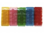 Пемза для ногтей, цветная, маленькая, (10 шт. в упаковке) 9×3 см.