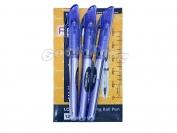Ручка Flair длинна письма 10 киллометров ( синяя, чёрная )