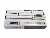 Ручка гелевая Aihao 801А чёрная, в уп. 12 шт.