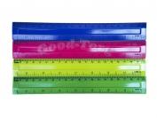Линейка пластиковая 20 см