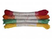 Шнур веревка витой бытовой В-21 цветной дл. 20м.