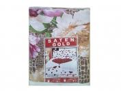 Постельное белье арт.8 Сатин Голд двойка (Пододеяльник 1 шт. 215х175 см. Простыня 1 шт. 215х175 см. Наволочка 2 шт. 70х70 см.)