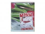 Постельное белье арт.7 Сатин Голд двойка (Пододеяльник 1 шт. 215х175 см. Простыня 1 шт. 215х175 см. Наволочка 2 шт. 70х70 см.)