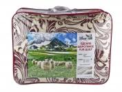 Одеяло шерстяное размер 1.8 × 2.1 м (цвета в ассортименте)