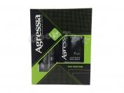 Набор мужской Agressa fresh (пена для бритья и бальзам после бритья)