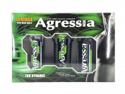Набор мужской Agressa For Dynamic (Гель для душа + крем для бритья + крем после бритья)