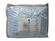 Одеяло лебяжья пух цветной   200*220 см.