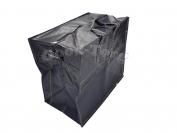 Сумки плотные черные N8 1 уп. = 3 шт. 90х60х40 см.