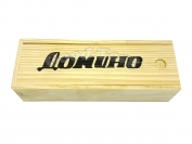 Домино в бамбуковой коробке