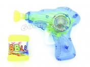 Мыльные пузыри пистолет механический