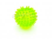 Мячик ежик 55 мм пищит, светится