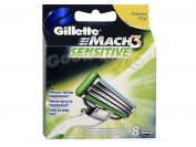 Картриджи Gillette MACH 3 Sensitive original 8 шт.