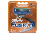 Картриджи Gillette Fusion original 8 шт.