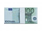 Сувенирные деньги 100 евро 1 уп. = 80 шт.