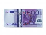 Сувенирные деньги 500 евро  1 уп. = 80 шт.