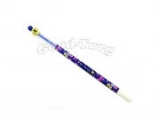 Ручка гелевая корона цвет синий.