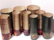 Формы для пасок. Пергамент коричневый 110 мм. 1 уп. = 50 шт.