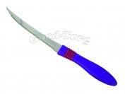 Нож на планшете пилка фиолетовая ручка фабричный Китай, 235 мм., 1 уп. = 12 шт. (продажа листом)