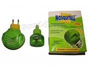 Электрофумигатор от комаров Mosquitall в комплекте с жидкостью 45 ночей