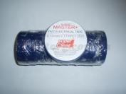 Изолента ПВХ Master+ синий 25м. (в пачке 10шт. продажа пачкой)