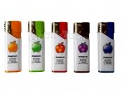 Зажигалка турбо яблока разноцветные 2805 -36
