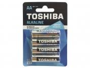 Батарейка YOKOHAMA alcaline, AA R6, палец, 4 шт